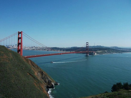 Dylan's Tours: View from Marin Headlands