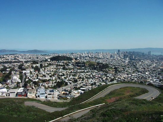 Dylan's Tours: View from Twin Peaks