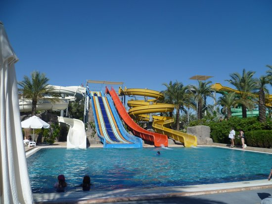 Royal Wings Hotel : The water park