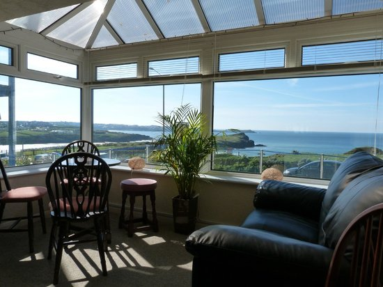 Porth Cove: view from bar