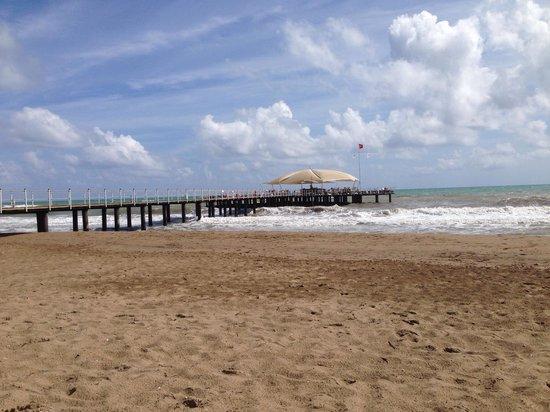 Calista Luxury Resort: The Calista hotel beach.