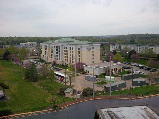 Radisson Hotel Nashville Airport: window view