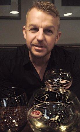 The Adelphi Kitchen: Enjoying the wine