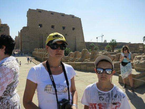 Karnak-Tempel: вход в Карнакский храм