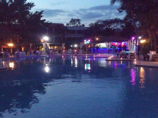 BelleVue Dominican Bay : Cena al aire libre!