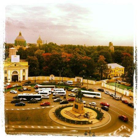 Moscow Hotel: Вид из окна