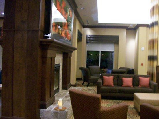 Hilton Garden Inn Greenville: Part of the Lobby Lounge Area