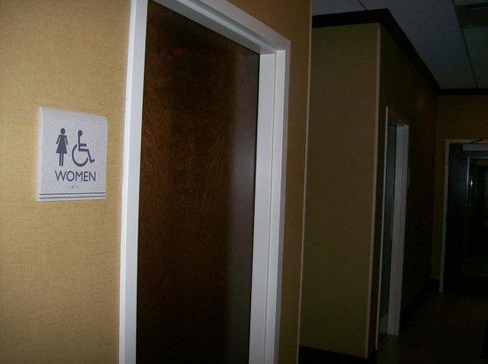 Hilton Garden Inn Greenville: Restroom in Hotel