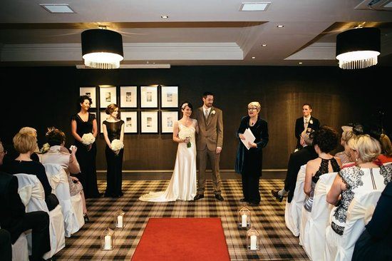 Best Western Glasgow South Eglinton Arms Hotel: ceremony room