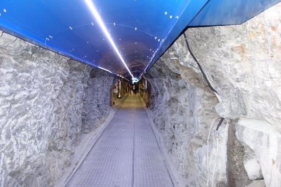 Jungfraujoch: entry to tour
