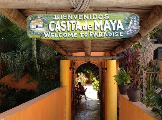 Casita de Maya: Ça commence bien....