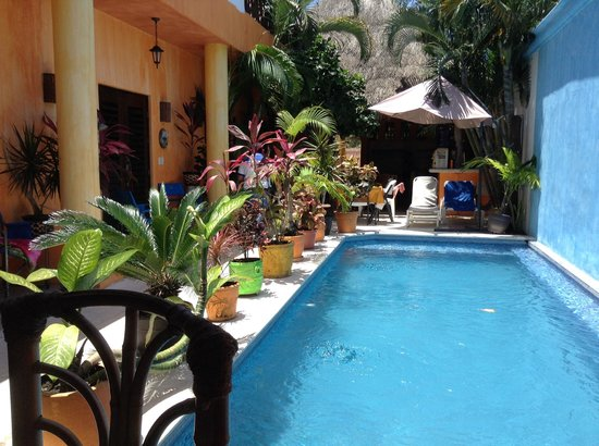 Casita de Maya: La piscine devant la chambre