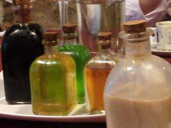 Restaurante Casa Isolina: orujos