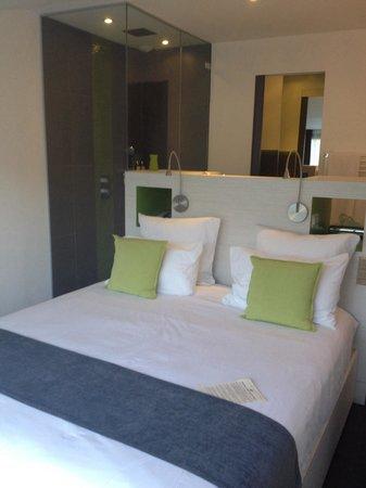 Hotel des Gorges du Verdon: La chambre cosy et très jolie