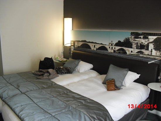 Mercure Pont d'Avignon Centre: Cozy Twin-Bedded Room