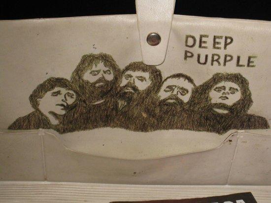 Museum of Soviet Life: тот самый Deep Purple  с сумки 70х