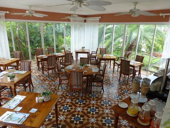 Royal Palms Hotel: Royal Palms veranda (April 2014)