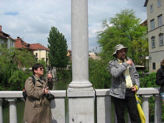 Ljubljana Free Tour : Tour guide