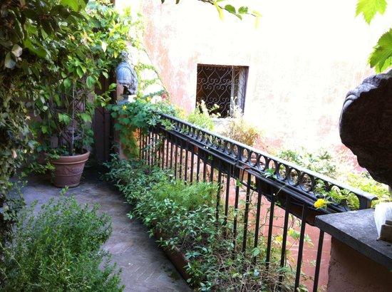 The Inn At The Roman Forum: Jardin privatif