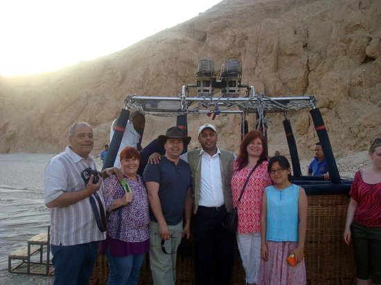 Sindbad Hot Air Balloons: After landing in valley of the kings