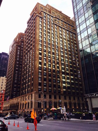 Park Central Hotel New York: Cool hotel op perfecte locatie