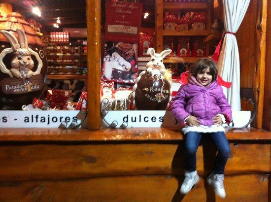 Posada Del Halcon: casa de chocolates