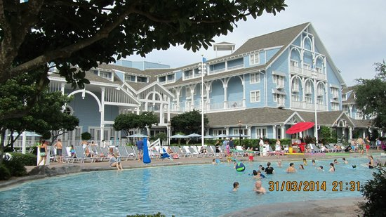 Disney's Beach Club Resort: The main pool area
