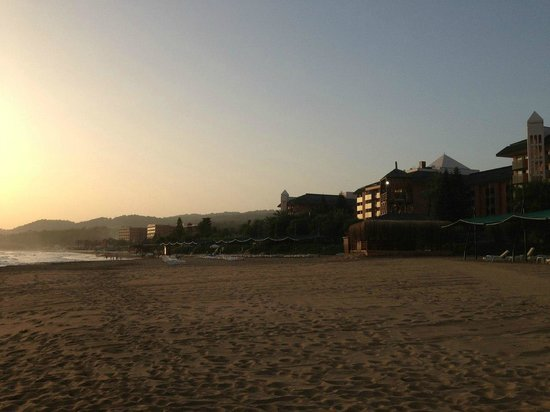 Pegasos Club: Пляж