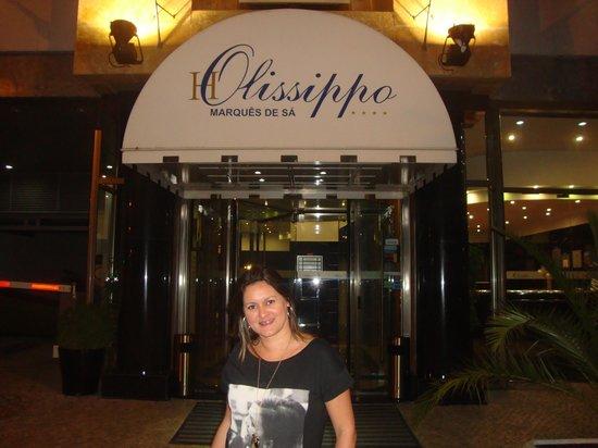 Hotel Olissippo Marques de Sa: Foto da portaria do Hotel