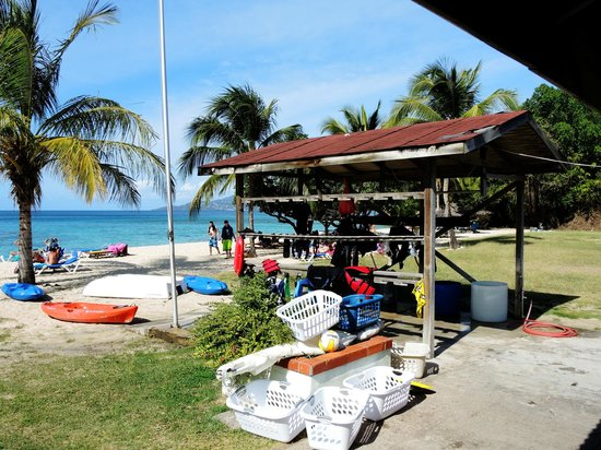 Grenadian by Rex Resorts: Dive Centre & Beach