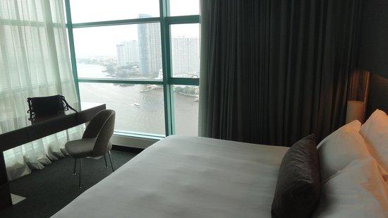Chatrium Hotel Riverside Bangkok : cama super confortavel