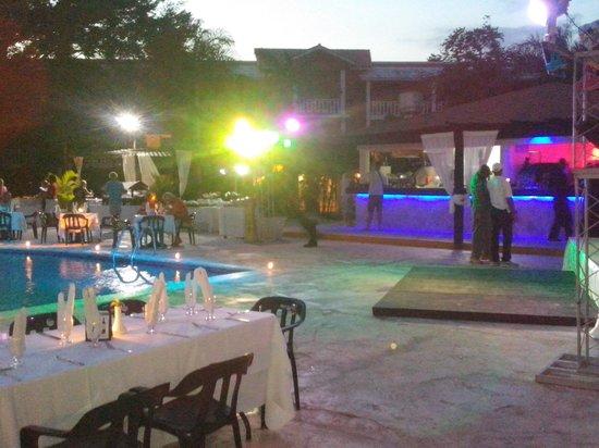 BelleVue Dominican Bay : preciosa noche.  inolvidable
