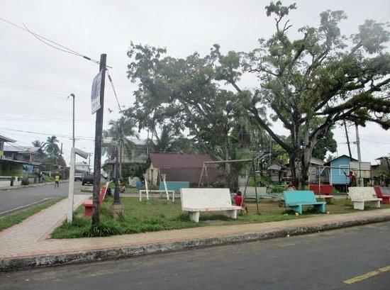 Hotel Dos Palmas : Small park across the Dos Palmas
