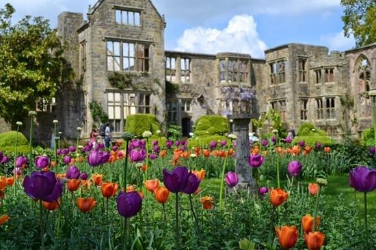 Nymans Gardens and House: Nymans 30/4/2014