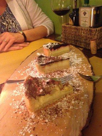Cacio Vino Trallallà : The dessert sampler