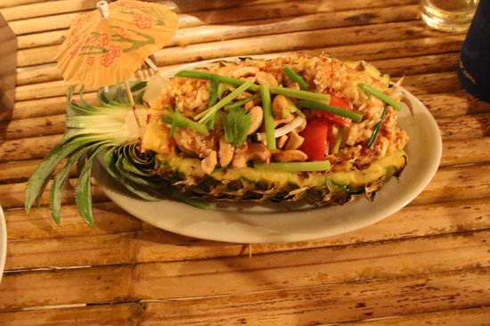 Kwan's Cookery : Fried Rice with pineapple