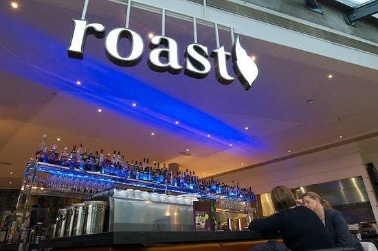 The Bar at Roast at night