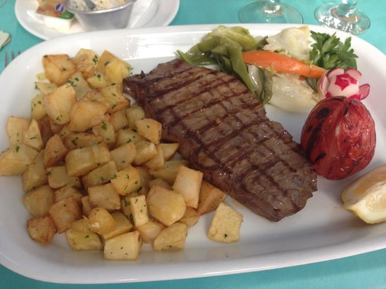 Ostra D' Ouro Restaurant Grill: Perfect steak