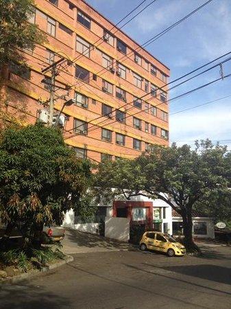 Hotel Plaza Rosa: plaza Rosa