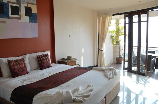 Sunset Hill Resort: One of the bedrooms in the 3 bedroom rooftop penthouse