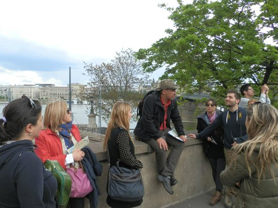 Free Budapest Walking Tours: durante el tour