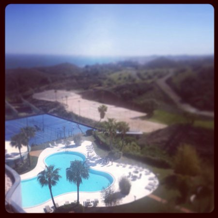 DoubleTree by Hilton Hotel Resort & Spa Reserva del Higueron: View from my balcony