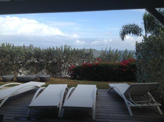 La Toubana Hotel & Spa: vue mer de la chambre ???