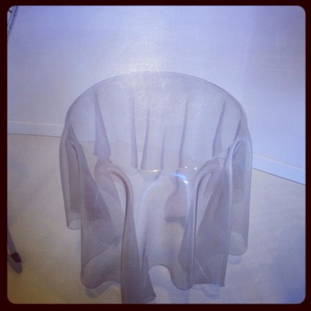 DoubleTree by Hilton Hotel Resort & Spa Reserva del Higueron: The ghost table on the 2nd floor. Fantastic pieces.