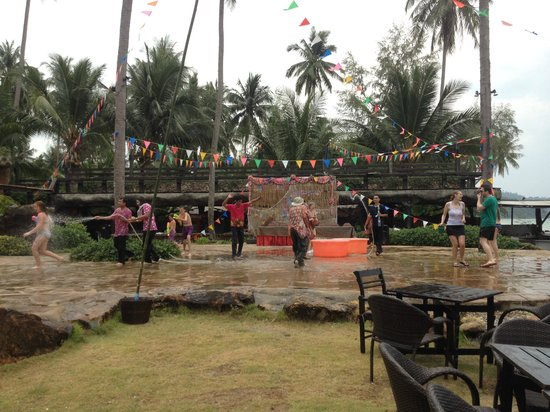 Panviman Koh Chang Resort: Sonkran festivities