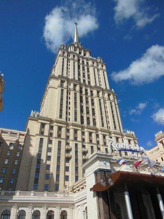Radisson Royal Hotel Moscow: Prédio do Hotel