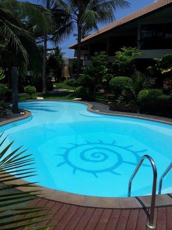 Thongtakian Resort: Het zwembad