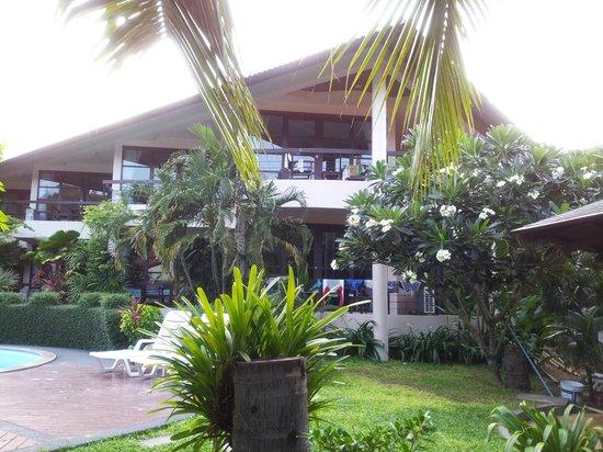 Thongtakian Resort: Het complex met de kamers