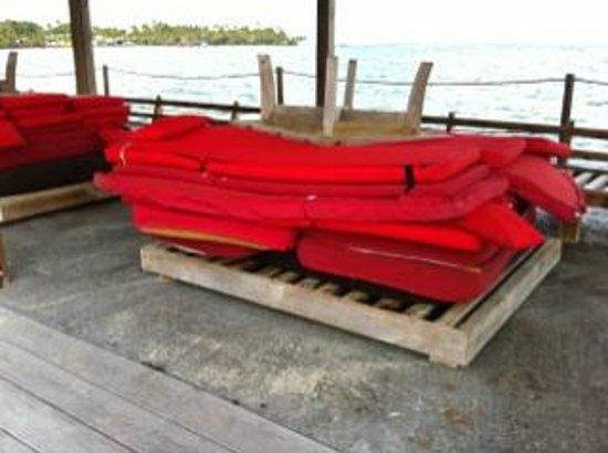 La Toubana Hotel & Spa: Matelas plage