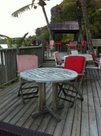 La Toubana Hotel & Spa: meubles restaurant plage